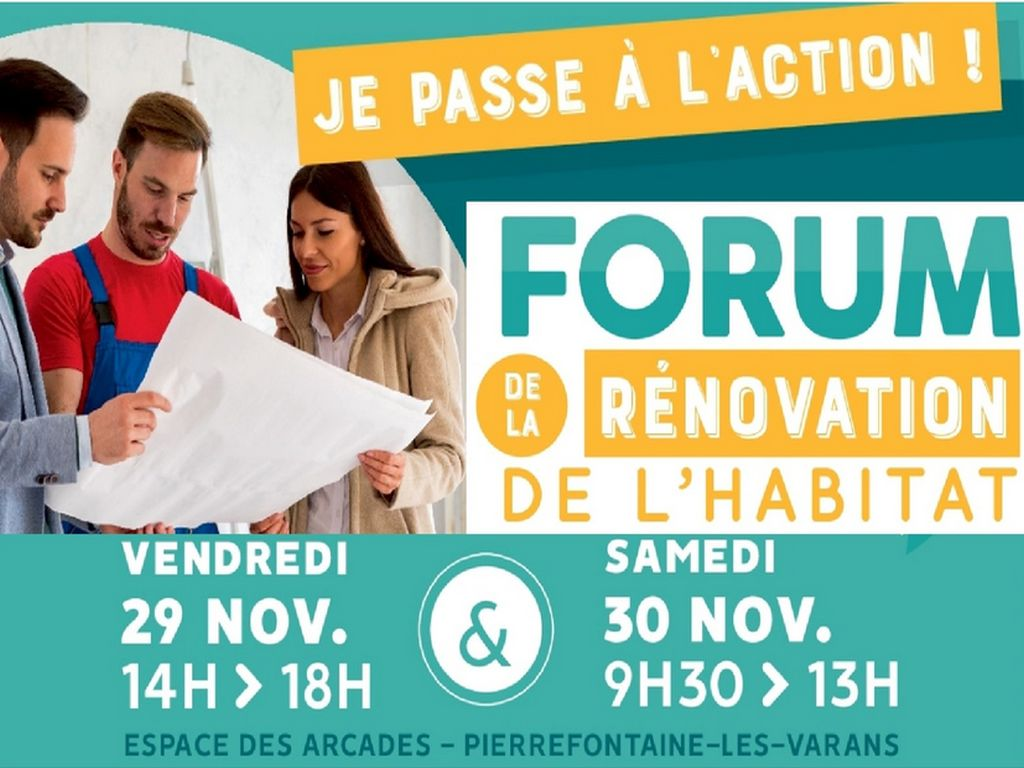 CAUE 25 au forum rénovation habitat